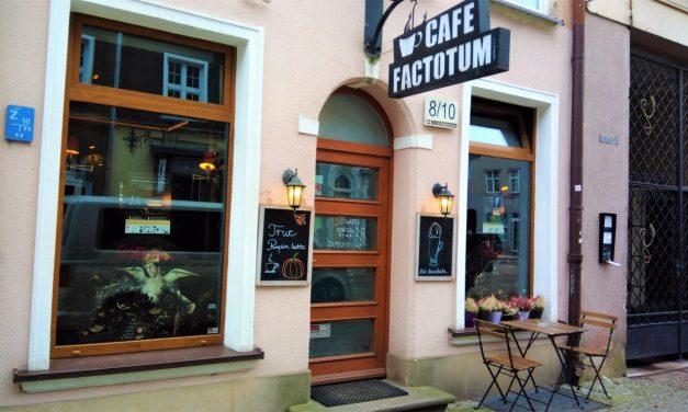 Czas na kawę II – Cafe Factotum w Gdańsku