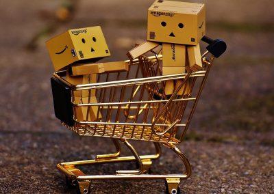 przewożenie dzieci w wózku sklepowym