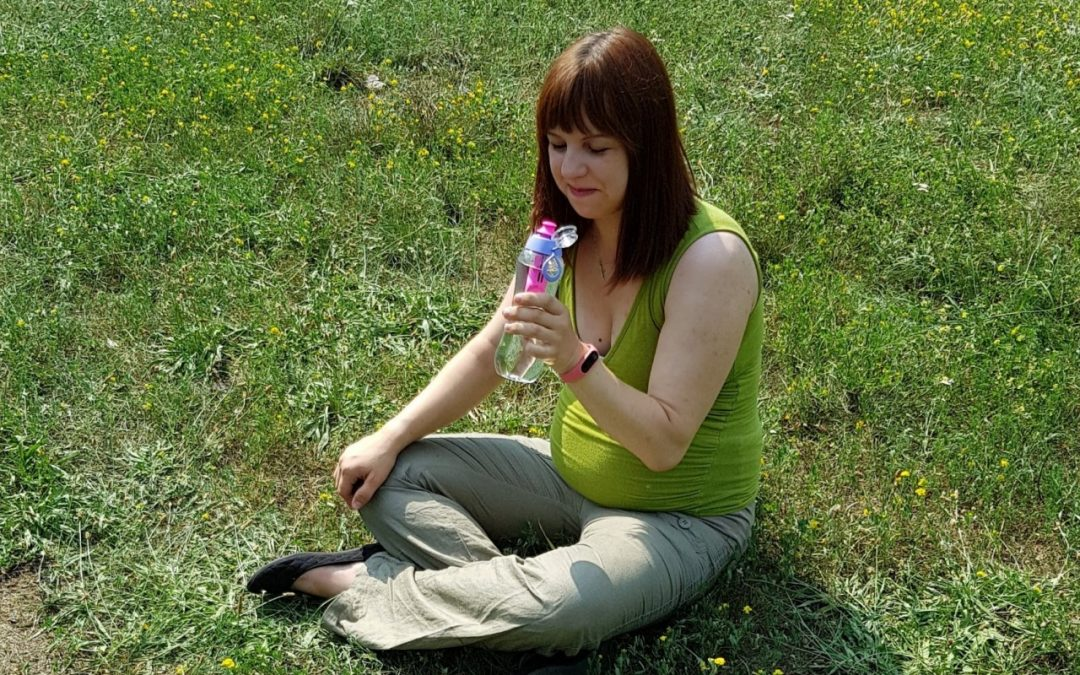 Aktywność w czasie ciąży – z butelką Dafi